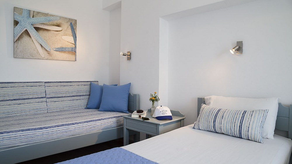 Superior Double Room__Lotos Seaside Hotel, Sougia