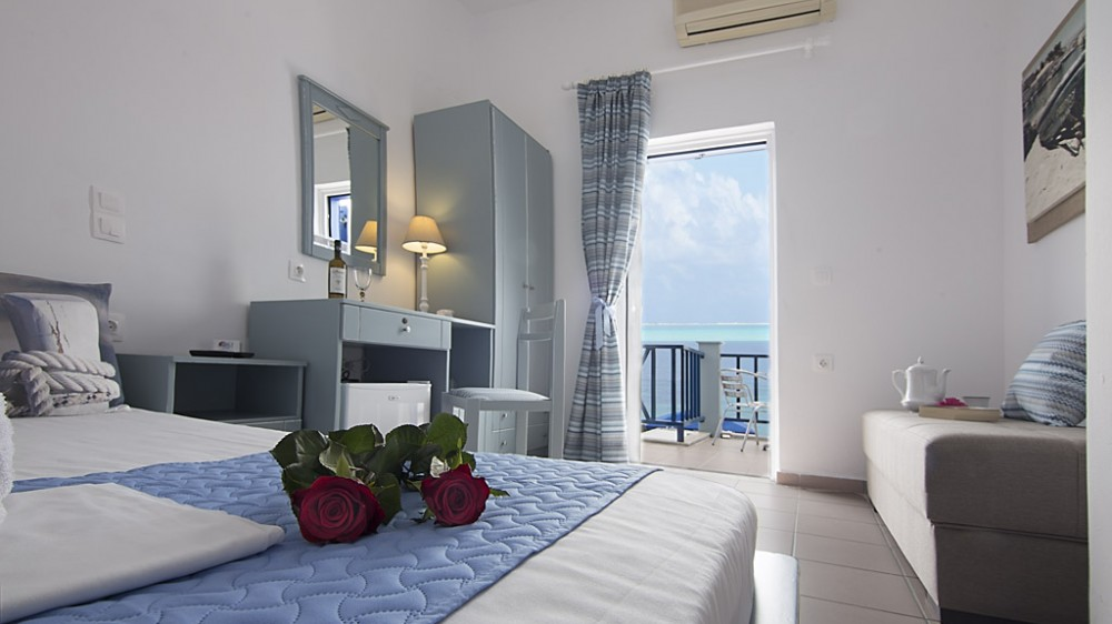 Superior double room_ Lotos Seaside Hotel, Sougia