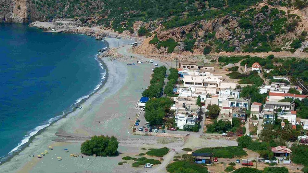 Sougia beach Lotos