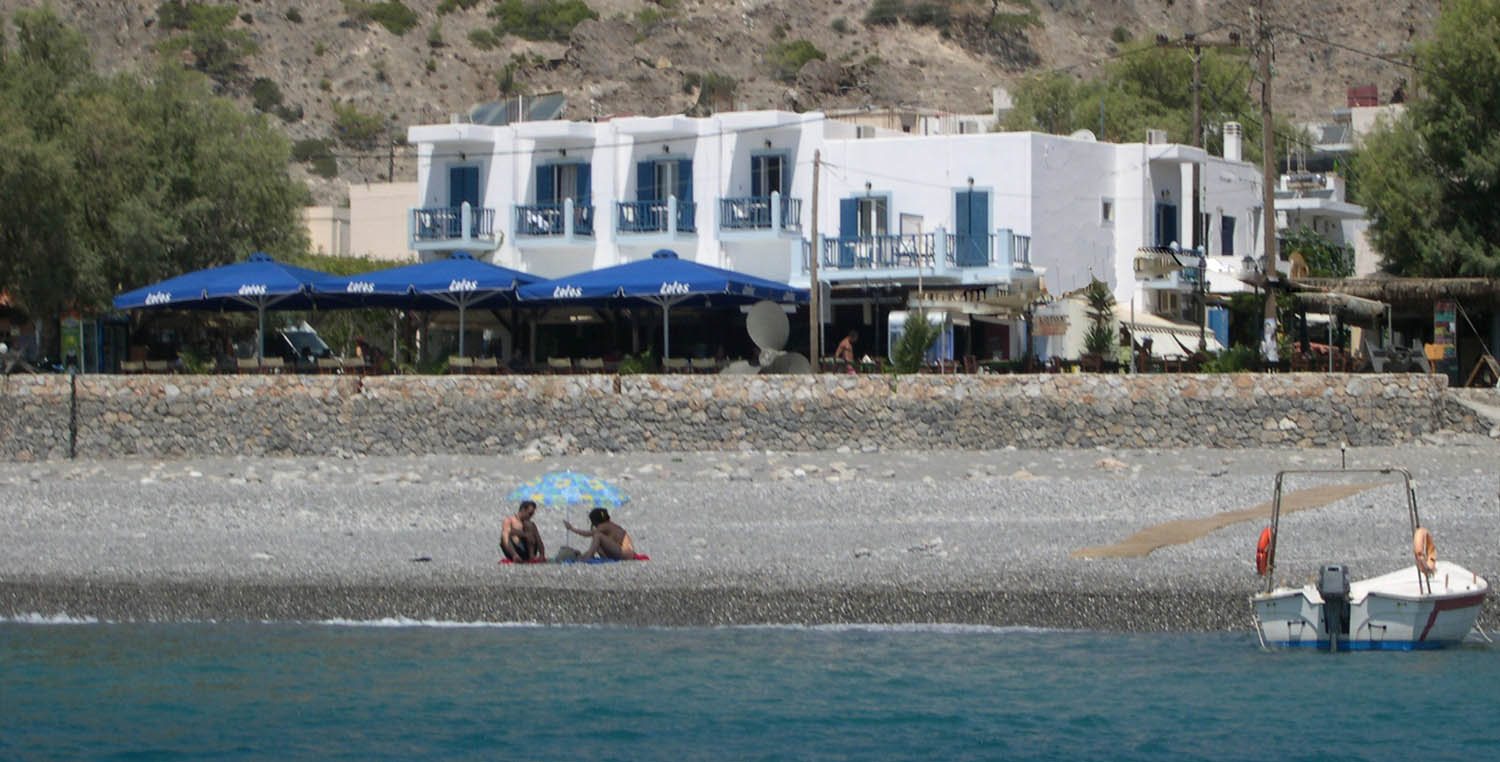 Lotos Seaside Hotel from the sea
