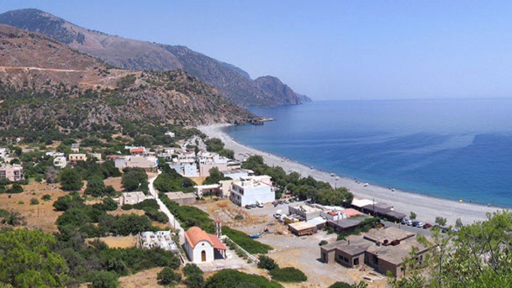 Lotos, Sougia seaside and village