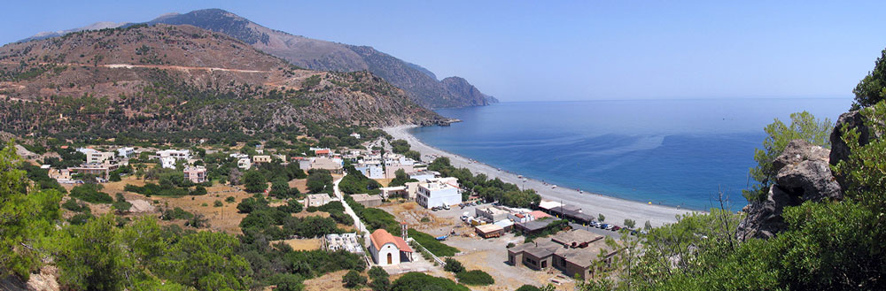 Lotos Sougia seaside and village